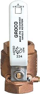 Groco Full-Flow In-Line Ball Valves Ibv Series - Bronze