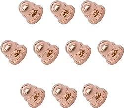 CUHAWUDBA Kit de Consumibles de Antorcha de Cortador de Plasma de Boquilla de Electrodo de 20 Piezas