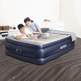 سرير منفوخ بمضخة هواء مدمجة لسرير كوين من بيستواي مقاس 2.03 م × 1.52 م × 61 سم