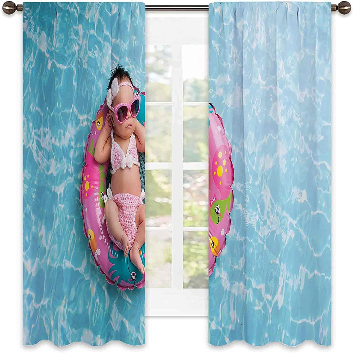 Baby Wear Resistant Color Fresno Mall Curtain Nine o New product type Days Sleeping Girl Old