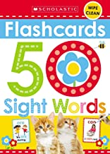 Flashcards - 50 Sight Words (Scholastic Early Learners)