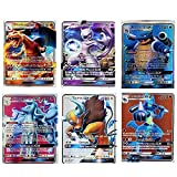 PPKZY Pokemon Tarjetas en español Tag Equipo GX Trainer Energy Tarjetas Jugando Juego Castellano Español Niños Juguete Cartas (Color : 100GX Spanish)