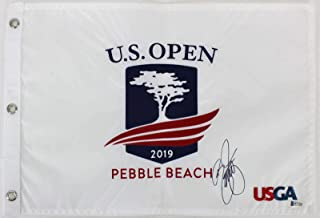 rickie fowler signed flag