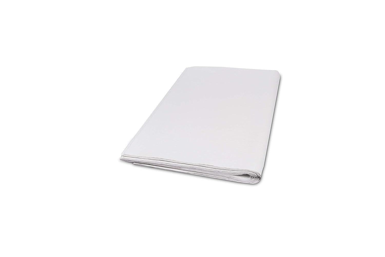 Mantel Morigami, 80x80cm, Gofrado, 40 gramos, Blanco, 5 Paquetes de 100 unidades