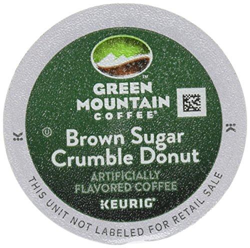 Keurig Green Mountain Coffee Roasters Brown Sugar Crumble Flavored Coffee...