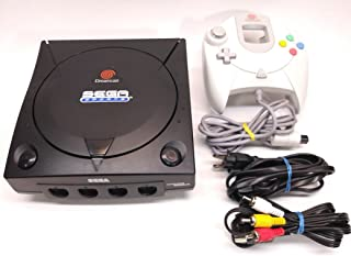Sega Dreamcast System - Video Game Console (Black Sega Sports Edition)