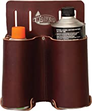 Weaver Arborist Leather Burgandy Fuel Can Holder