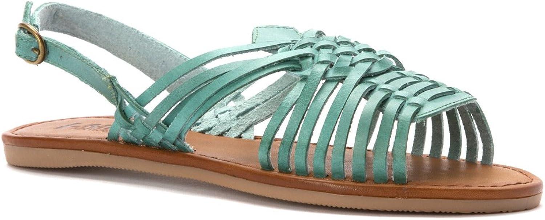 MIA Women's Budapest Turquiose sandals 7 M