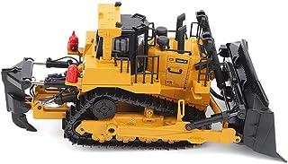 Eulbevoli Construction Durable Bulldozer Jouet modèle ingénierie Bulldozer Jouet 1/50 sécurité ingénierie Bulldozer Jouet ...