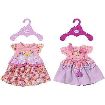 Amazon.es: Baby Born - 822111 - Vestido para muñecas rosa