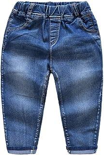 HOSD Jeans para niños Pantalones de bebé para niños Pantalones para niños Pantalones Individuales de Primavera