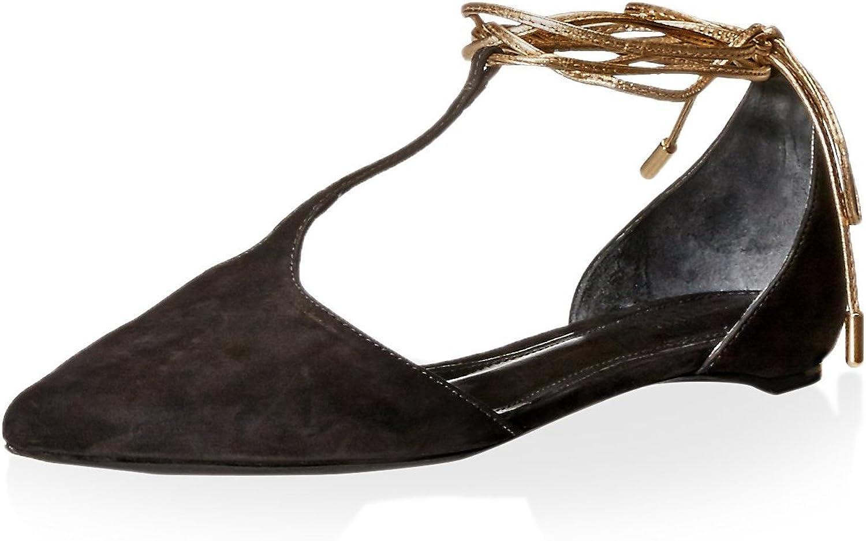 Schutz Women's Lace Up Flat