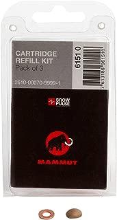 SnowPulse / Mammut Cartridge Burst Disc Refill Kit (Pack Of 3)