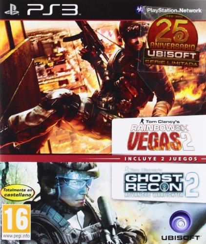 Paquete Ghost Recon Advanced Warfighter 2 +  Rainbow Six Vegas 2