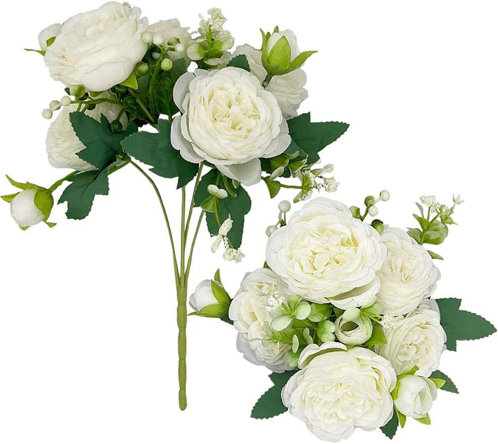 Artificial Flowers Inexpensive Peony Big Rose Silk Bouquet Fake 2021 spring and summer new Flowe Flower