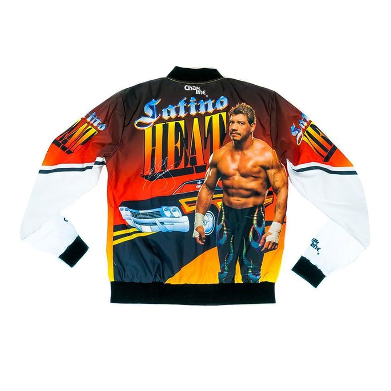 WWE Authentic Wear Eddie Guerrero Latino Heat Retro Fanimation Chalk Line Jacket Multi 2XL