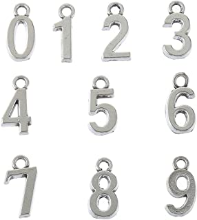 Best number bracelet charms Reviews