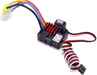 Turbo Racing TB-60025 Waterproof 25A ESC Brushed Electric Speed Controller with 6V/1A BEC for 1/18 1/24 RC Car Truck