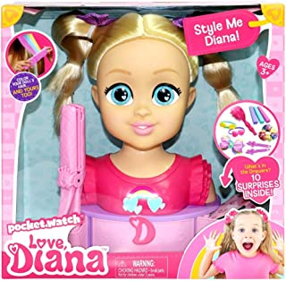LOVE DIANA DELUXE STYLING HEAD