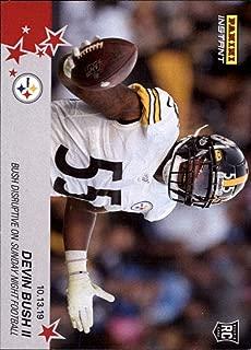 2019 Panini Instant NFL #73 Devin Bush II RC Rookie Pittsburgh Steelers Disruptive on Sunday Night Football 10.13.19 Print Run 90