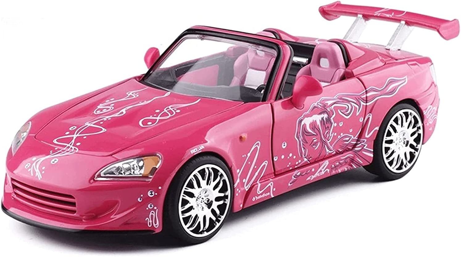 GOSHITONG Toy Sports Car 1:24 Ratio Passion Speed Complete Free Shipping and Award Die-Castin