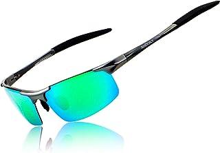 Mens Sports Polarized Sunglasses UV Protection Sunglasses for Men Fishing Driving