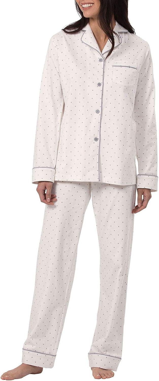 PajamaGram Pajama San Diego Mall Set Recommended for Women Cotton - Jersey Pajamas