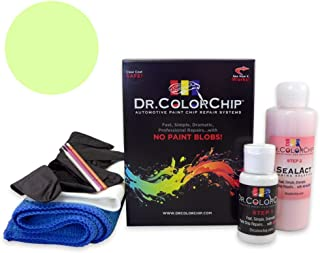 Dr. ColorChip Land-Rover Range Rover Evoque Automobile Paint - Colima Lime Metallic 829/HAQ - Road Rash Kit