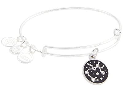 Alex and Ani Color Infusion Sagittarius Bangle Bracelet (Shiny Silver) Bracelet