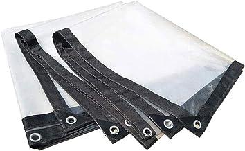 Zeildoek, openlucht transparant zeildoek regendicht doek waterdichte gewas zeildoek schaduwdoek,1×1M