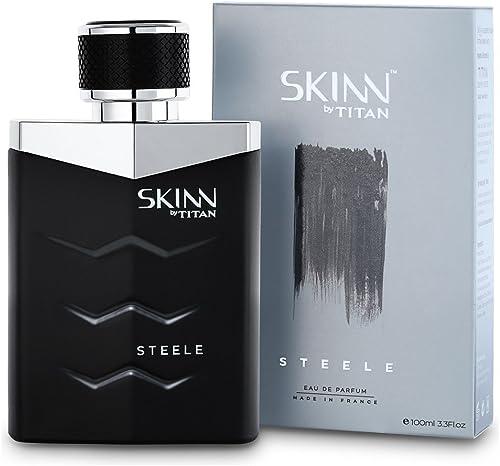SKINN BY TITAN Steele Fragrance for Men, 100 ml