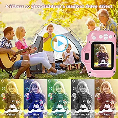 Blue Kids Camera for Boys and Girls Digital Selfie Camera Upgrade13MP 1080P IPS 2 Inch HD Screen Photos /& Video Camcorders Rechargeable for Kids Aged 3 Year and Up Toy Christmas Birthday Gifts
