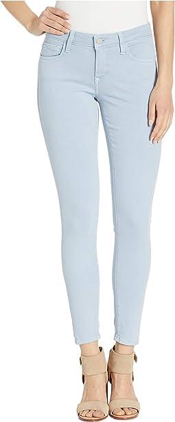 Alexa Ankle Skinny in Zen Blue Twill