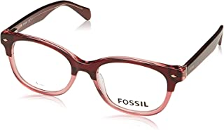 نظارات فوسل 7032 035J وردي / 00 عدسة تجريبية