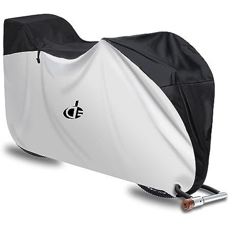 自転車カバー 子供乗せ 前後子供乗せ対応 防水 厚手 210D 撥水加工UVカット風飛び防止 収納袋付き 29インチまで対応 Double Elite