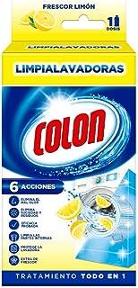 Colon - Limpiador de lavadora y antiolor, aroma limón