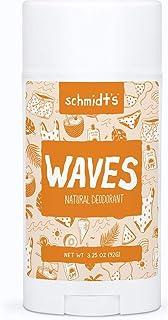 Schmidt's Natural, Natural Deodorant Stick, Waves Aluminum-Free, 75 gm