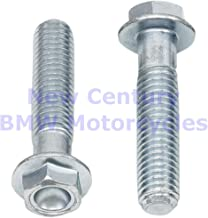 BOLT Low-Profile Dimpled 10Mm Hex Head Flange Bolts M8X35 10/Pack