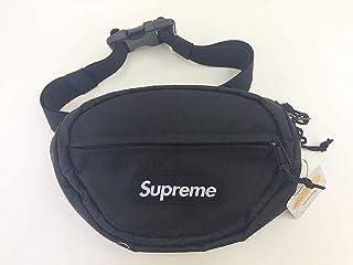 シュプリーム Supreme バッグ ウエストバッグ ボディバッグ ロゴ WAIST BAG ブラック 黒