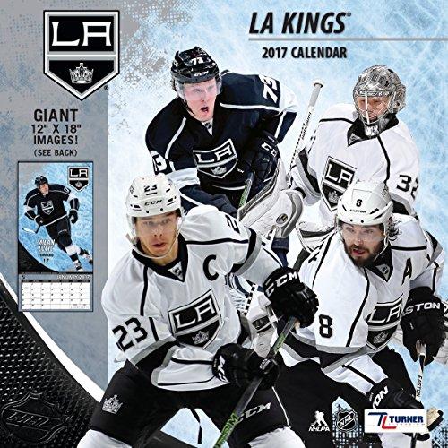 """Turner Licensing Sport 2017 Los Angeles Kings Team Wall Calendar, 12""""X12"""" (17998011943)"""