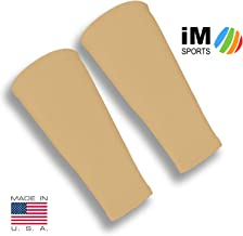 iM Sports SKINGUARDS Skin Protection Forearm Sleeves + Protects Aging or Thin Skin + UV Protection - Unisex + Made in USA (Pair of Thin Skin Forearm Covers)