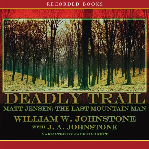 Deadly Trail audiobook cover art