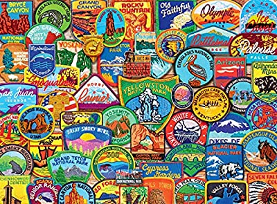 Buffalo Games - National Park Patches - 1000 Piece Jigsaw Puzzle from Buffalo Games