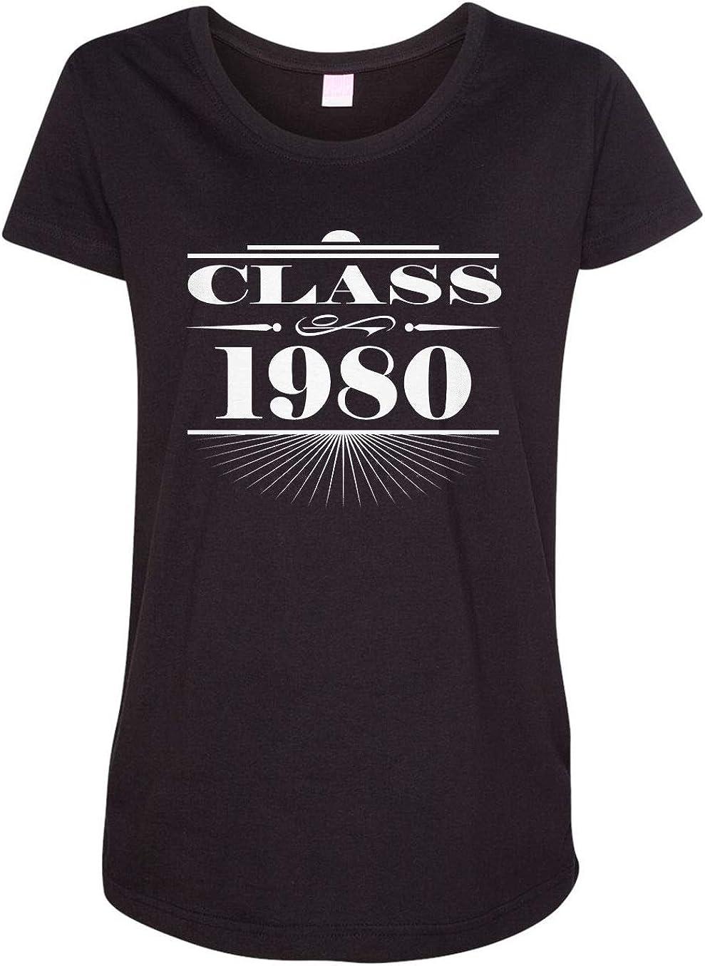 HARD EDGE DESIGN Women's Art Deco Class of 1980 T-Shirt