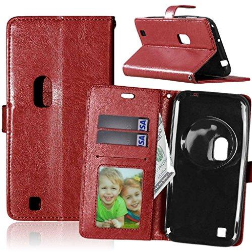 FUBAODA für Asus Zenfone Zoom ZX551ML Tasche Schwarz+Kostenlos Syncwire Ladekabel, Leder Hülle,Flip Leder Money Karte Slot Brieftasche,Kartenfächer Hülle für Asus Zenfone Zoom ZX551ML(5.5
