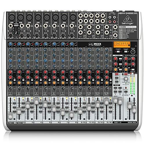Behringer QX2222USB Xenyx 12 Kanal Mixer
