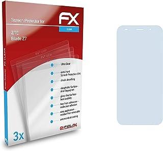 atFoliX Skärmskyddsfilm är kompatibel med ZTE Blade Z7 Film, ultra-klar FX Skyddsfilm (3X)