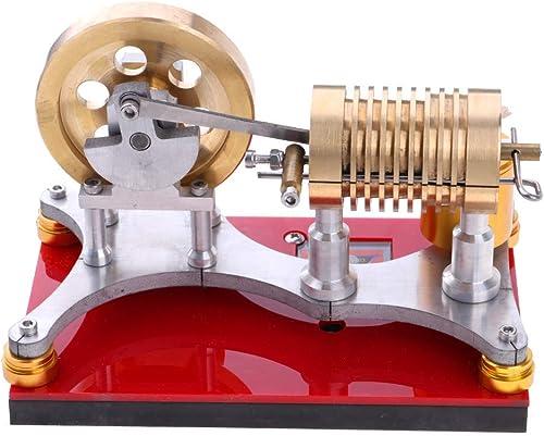 Tubayia Hei ft Stirlingmotor Generator Modell Bausatz Physik Experiment Wissenschaft Lernen P gogisches Spielzeug