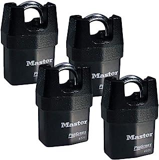 قفل ماستر لوك - أربع (4) قفل عالي الأمان 632