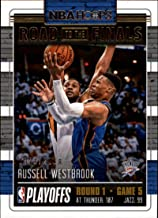 2018-19 NBA Hoops Road to the Finals First Round #39 Russell Westbrook /2018 Oklahoma City Thunder Panini Basketball Trading Card